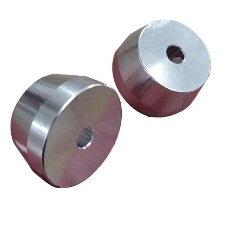 Adapters opspanset voor balanceren mono-arm wiel
