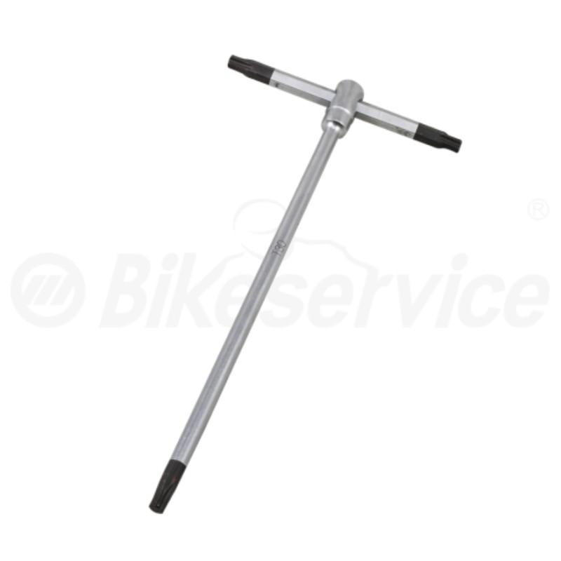 Torx T-sleutel T30 x 180