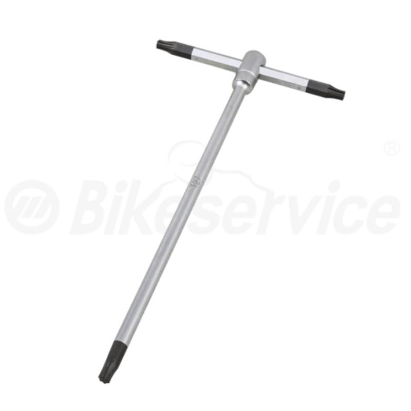 Torx T-sleutel T27 x 180