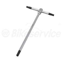 Inbus T-sleutel 5 mm X 180 mm