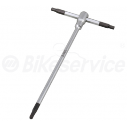 Inbus T-sleutel 3 mm X 125 mm