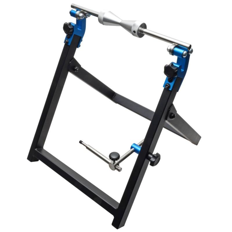 Wiel balanceer bok, inklapbare standaard voor uitbalanceren wielen
