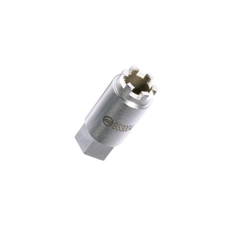 Kroonmoersleutel 12,5 mm 6 punts kroonmoerdop