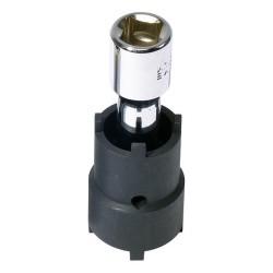 Kroonmoersleutel 26,5 / 30 mm 4 punts kroonmoerdop