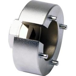 Kroonmoersleutel 40 mm 4 pins, open zijde. Bikeservice
