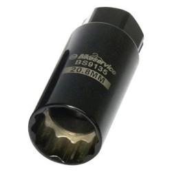 Bougiesleutel 20.8 mm, 21 mm bougiedop bougie sleutel dunne schacht